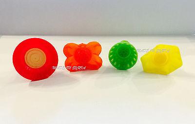 #d12 Set Di 3 Mini Pistacchio Date Maamoul Stampo In Plastica 3 Disegni Differenti-
