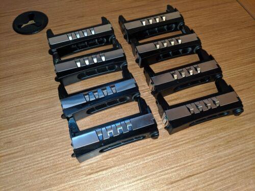 "DELL POWEREDGE 2900 2950 3.5/"" SAS SATA SCSI HARD DRIVE BLANK SWAP CADDY LOT OF 4"