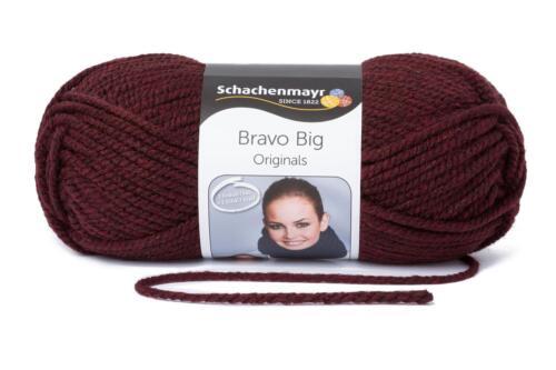 Schachenmayr Wolle Bravo Big stricken Häkeln 200 Gramm Strickgarn stricken