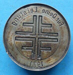 ! Prägestempel Matritze Für Deine Leistungen 1971 Kreuz ca. 450 gr 60 mm