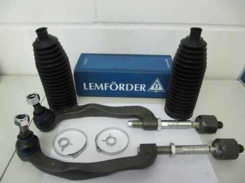 2x LEMFÖRDER Tie Rod End with Lms VW Multivan and Transporter T5 Set for Front