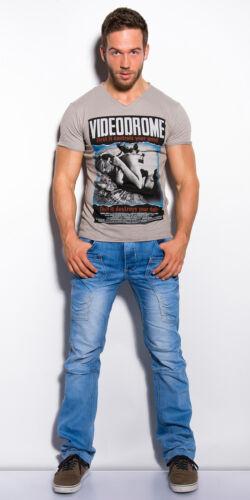 """Trendy T-Shirt /""""Videodrome/"""" verschiedene Größen und Farben neu"""