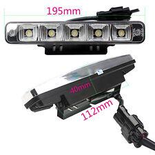 2PCS 5LED 10W Daytime Running Lights DRL Car Driving Fog Head Lamp 00RL E4 0057