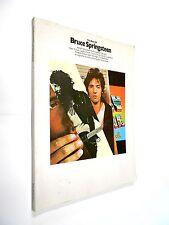 BRUCE SPRINGSTEEN the best  libro con 10 spartiti 1979