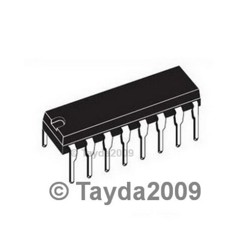 2 x MCP3208 MCP3208-CI//P 12-bit A//D Converter IC