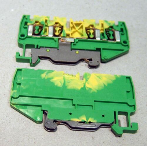 WKF 2,5//D2//2//SL//35 2,5mm² NEU 56.703.9153.0 Wieland PE-Klemme