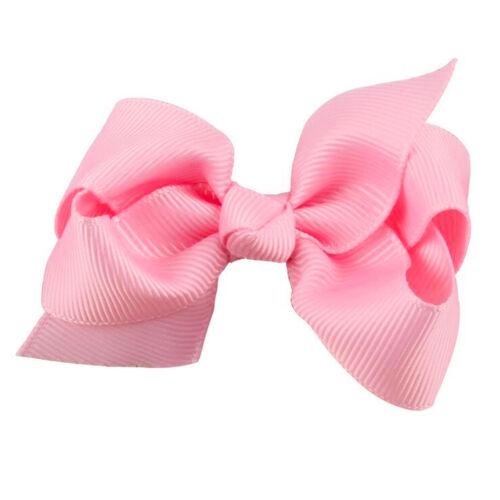 3PCS Kids Girls Baby Headband Toddler Bow Flower Hair Clip Accessories Headwear