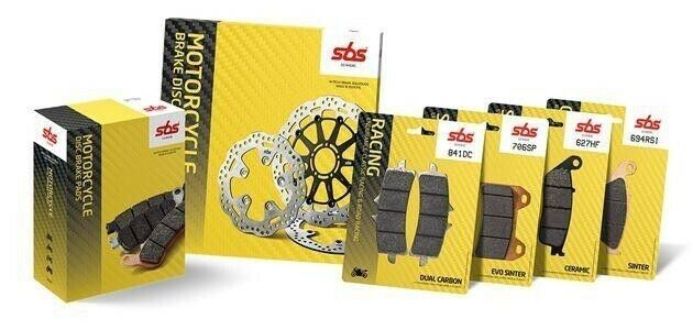 Buell motorcycle brake pads