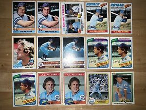 36-Card-Lot-Kansas-City-Royals-George-Brett