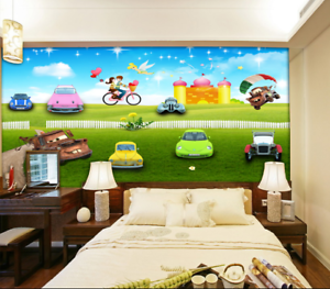 3D Cars Bike 426 Wallpaper Murals Wall Print Wallpaper Mural AJ WALL AU Kyra