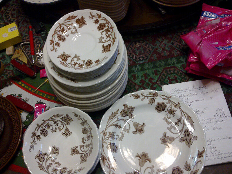 Royal Staffordshire Windsong Brown Floral