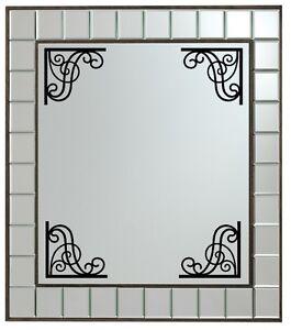 mirror frame. Exellent Mirror Caricamento Dellu0027immagine In Corso 4XCutVinylDecalAdesiviperSPECCHIO For Mirror Frame