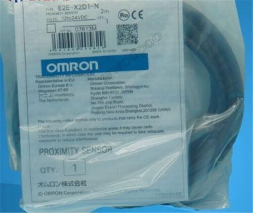 Nuevo 1Pcs Interruptor de proximidad OMRON INDUSTRIAL E2E-X2D1-N E2EX2D1N en