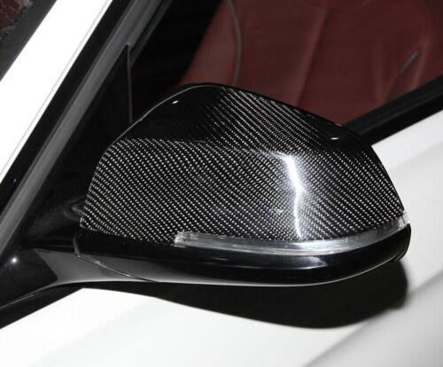 2 Spiegelkappen Carbon Karbon passend für BMW 3er 4er F30 F31 F32 F33 ECHTCARBON
