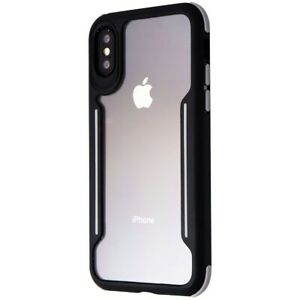 Verizon-Slim-Guard-Series-Case-for-Apple-iPhone-XS-and-X-Clear-Black-Gray