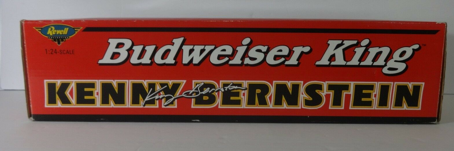 KENNY BERNSTEIN Budweiser King 1 24 Dragster 1 of 2000 Revell Model