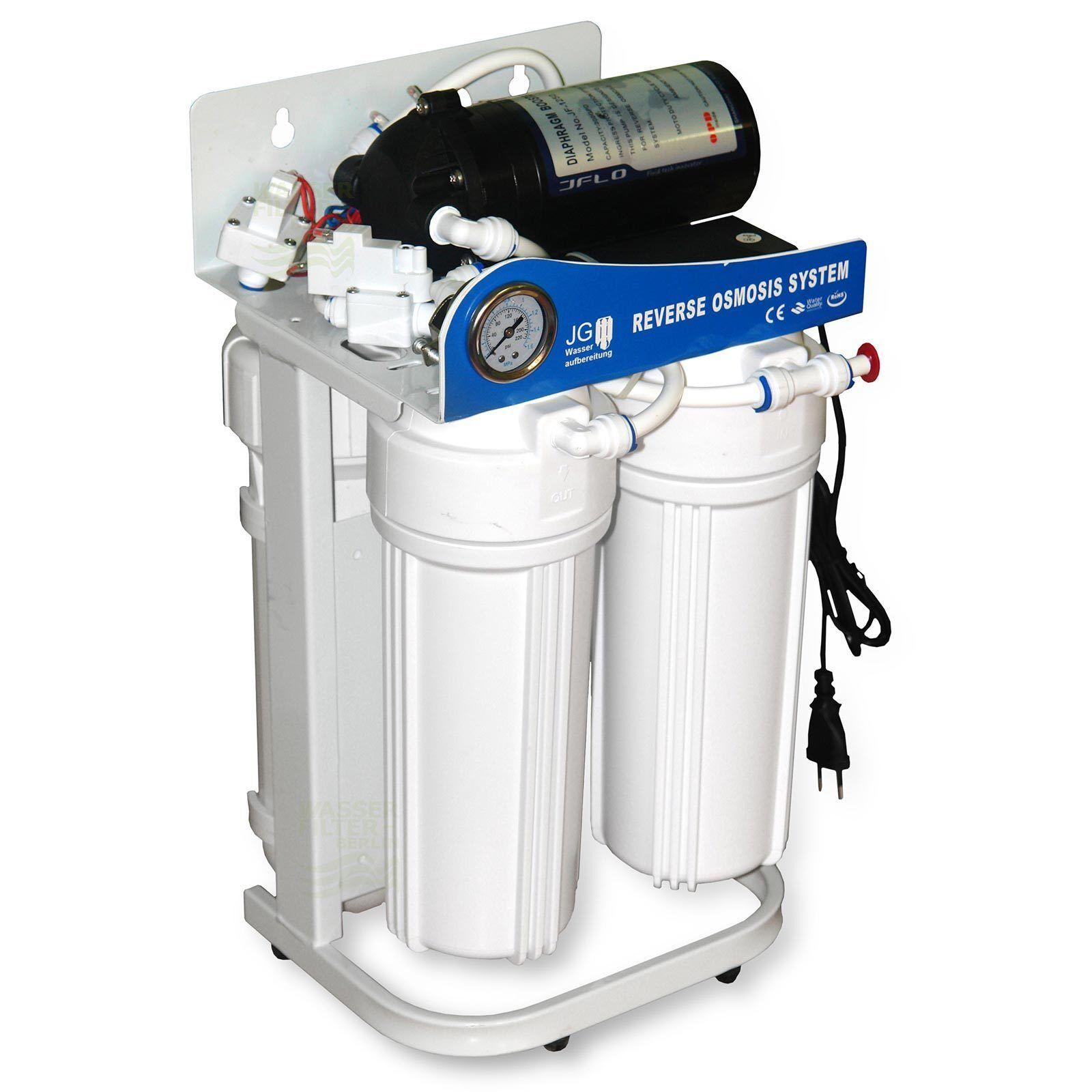 Mini Flusso Diretto Impianto ad Osmosi Inversa 300 Gpd