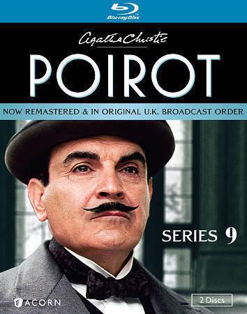 Agatha Christies Poirot: Series 9 (Blu-ray Disc, 2013, 2-Disc Set) Region A