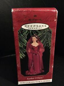 Hallmark-Keepsake-SCARLETT-O-039-HARA-Gone-With-The-Wind-1997-Christmas-Ornament-New