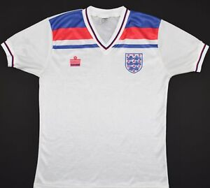 2c3c980b3 Image is loading 1980-1983-ENGLAND-ADMIRAL-HOME-FOOTBALL-SHIRT-SIZE-