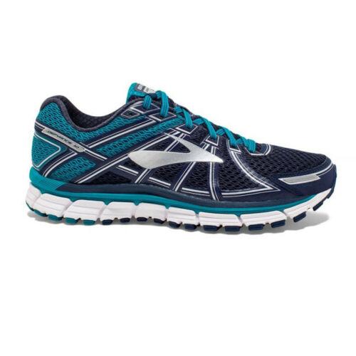 Brooks Herren Defyance 10 Turnschuhe Laufschuhe Sneaker Blau Marineblau