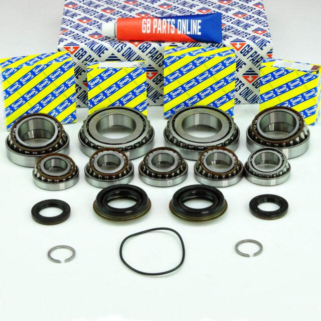 M32 Getriebe Teile Reparatur Umbau-Satz 9 Lager 5 Dichtung