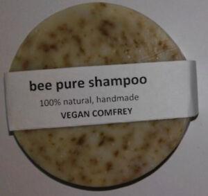 VEGAN-Comfrey-Solid-Shampoo-handmade-pure-natural-50g-bar-soap-travel-ecofriendl