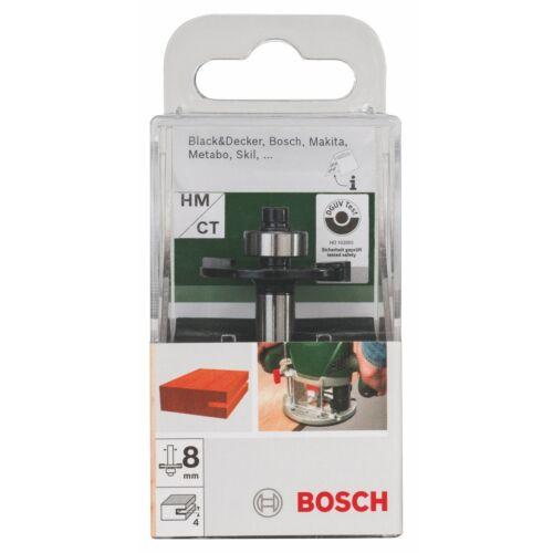 Bosch Scheibennutenfräser 4mm HM//CT mit Anlaufkugellager 8mm B 9,6mm Fräser