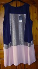 LADIES NEXT COCKTAIL / SPECIAL OCCASION DRESS SIZE 26 New With Tags RRP.£55