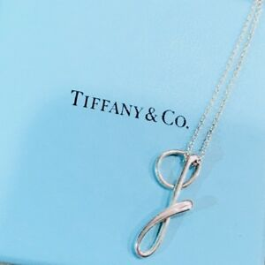 081e02725f83a Details about Tiffany & Co. Elsa Peretti Sterling Silver Initial Letter G  Pendant Necklace