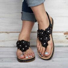 785541e087a0 item 6 Women s Flip Flops Elastic Strap Summer Boho Flat Sandals Casual  Shoes Size 5-9 -Women s Flip Flops Elastic Strap Summer Boho Flat Sandals  Casual ...