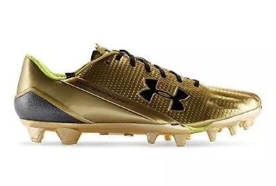 Under Armour Speedform MC Football Cleats Metallic Gold 375 SZ 1270173-777