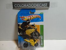 2012 Hot Wheels Treasure Hunt #52 Yellow Ducati 1098 Motorcycle