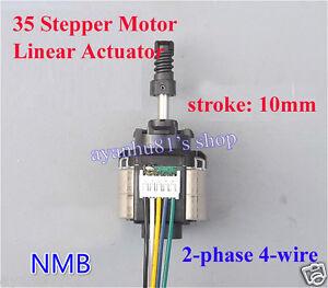 NMB Linear Actuator 2-phase 4-wire Stepper Motor 5V-9V 6V put pull motor For DIY
