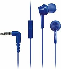 Artikelbild Panasonic RP-TCM115E-A Blau  In-Ear-Kopfhörer, integriertem Mikrofon