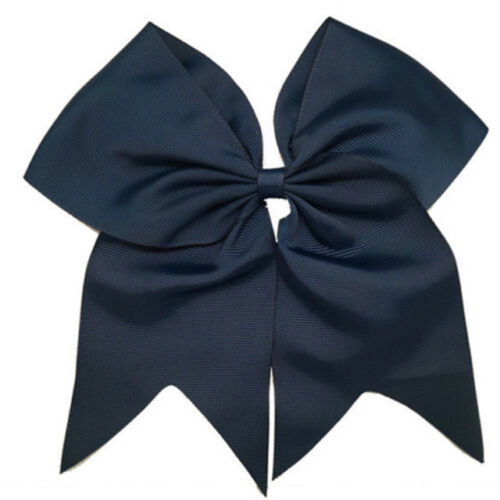 8 Inch Large Ribbon Cheer Bow With Hair Band Cheerleading Party Hair Bows Clip