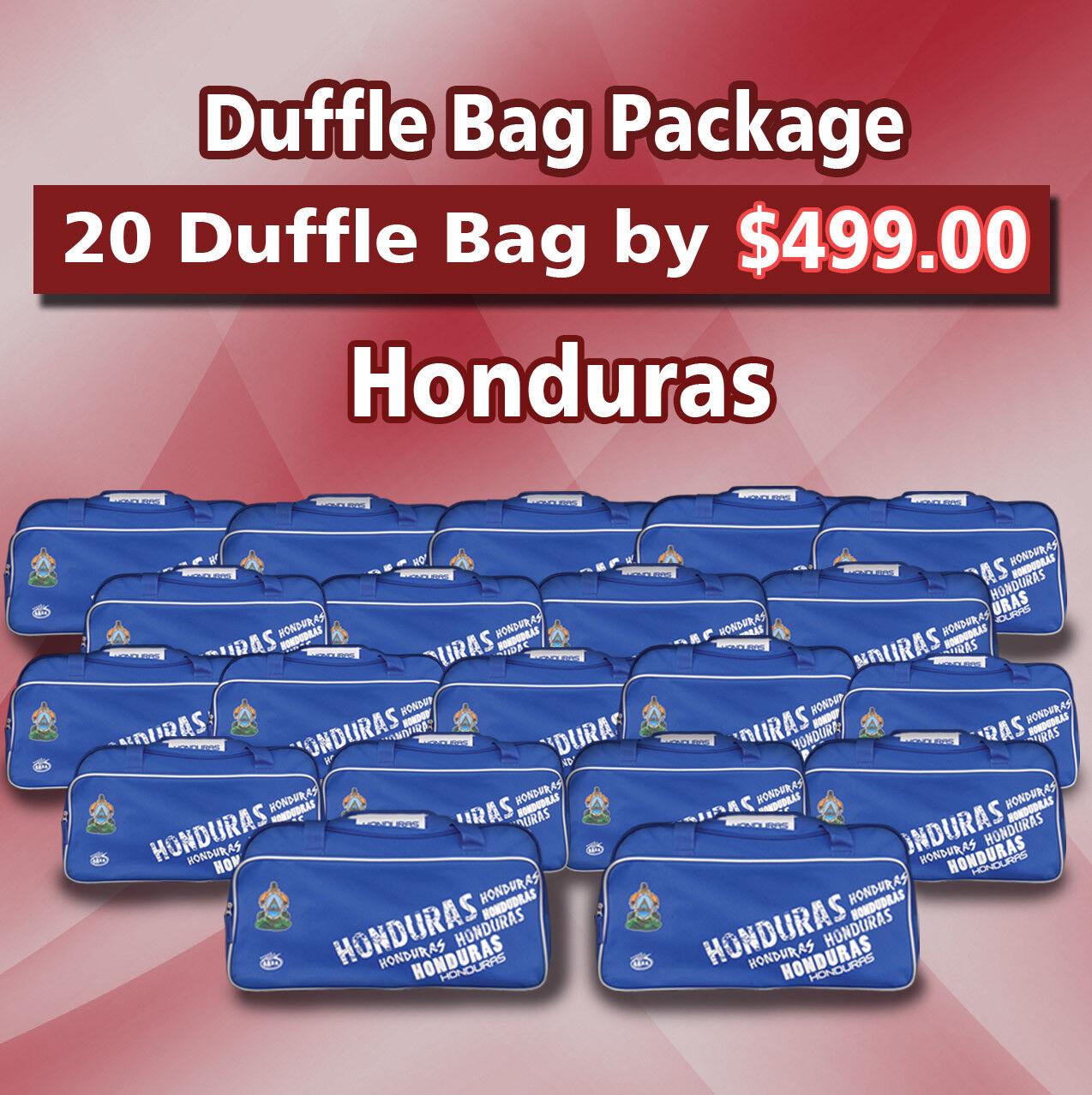 20 Bolsa De Lona Paquete Honduras Color azul por Arza fútbol (equipo Bolsa)
