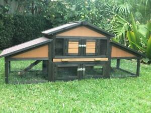 Rabbit-Hutch-Guinea-Pig-cage-run-Chicken-Coop-Hen-House-MountainMall-Janice