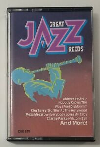 Great Jazz Bands Great Reeds Cassette Tape 1986 RCA Ariola