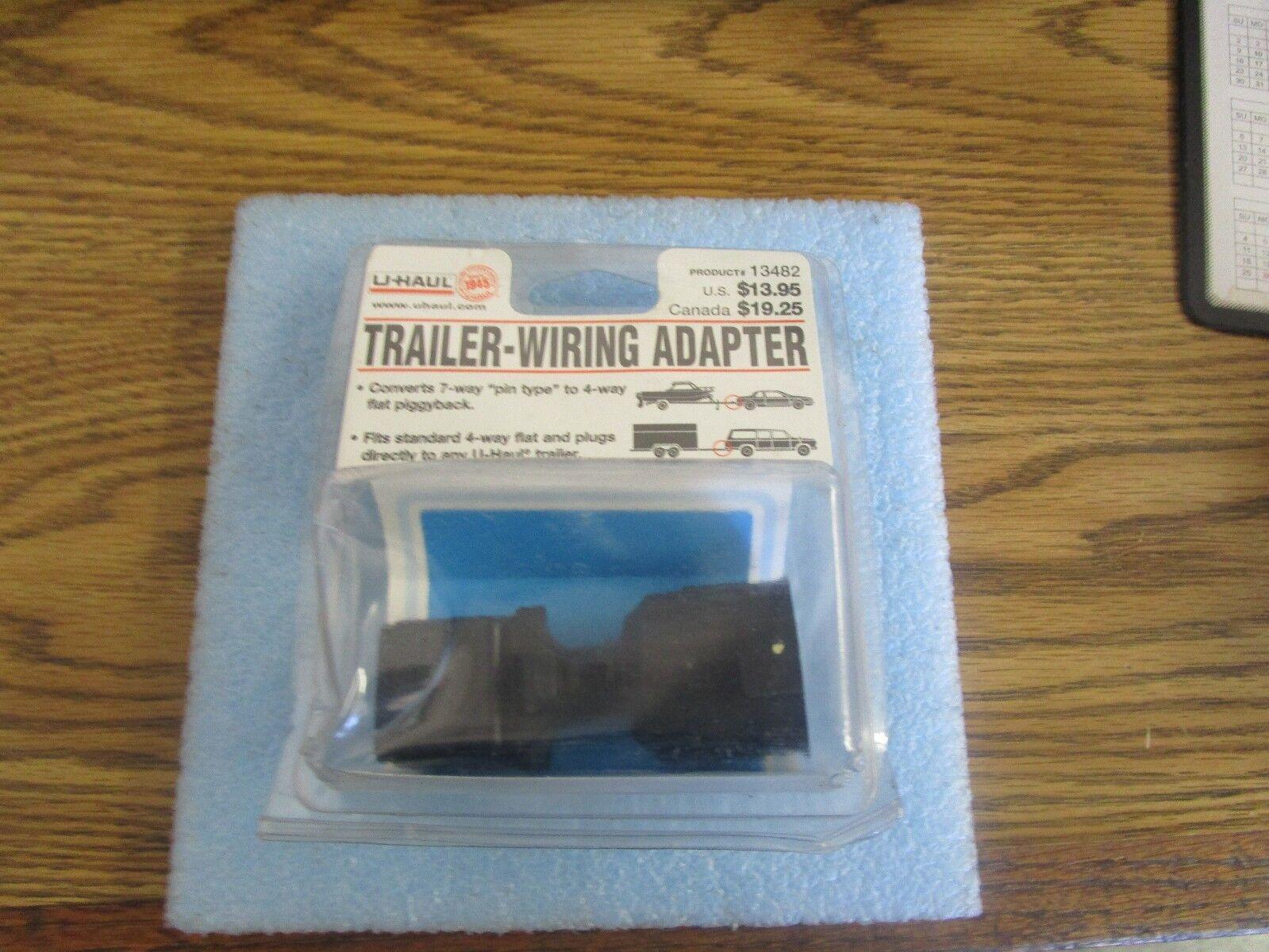 13482 Trailer Wiring Adapter 7 Pin To 4 Way Flat Piggyback U Haul Ebay Uhaul