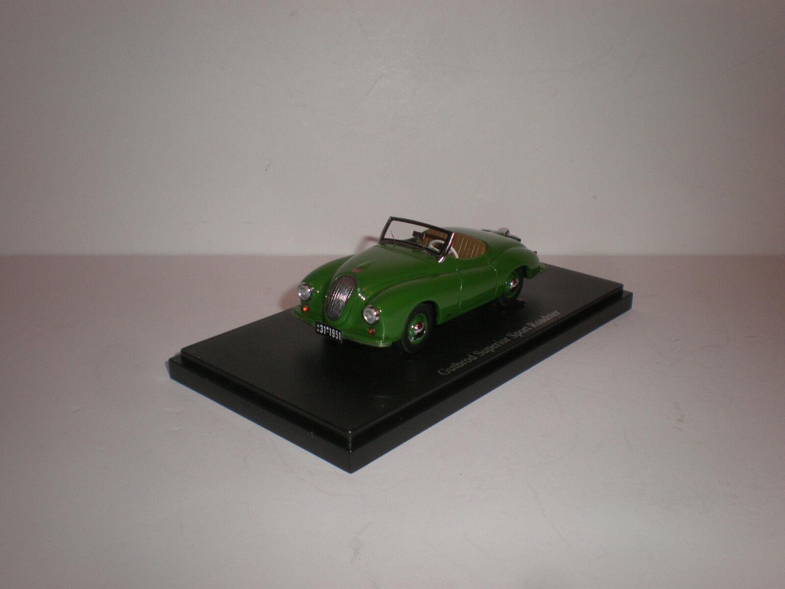 1 43 Carcult Resin Model Gutbrod Superior Sport Roadster Grün