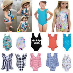 Newborn-Children-Kid-Baby-Girl-Swimwear-Swimsuit-One-piece-Bikini-Beachwear-Suit