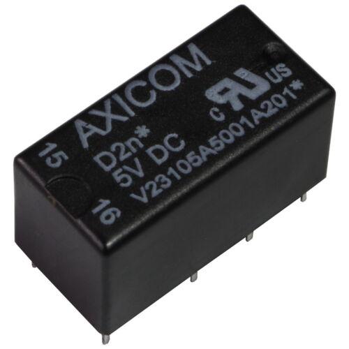 Te Connectivity v23105a5001a201 relais d2n 5v DC 2xum 2a 167r relais 855238