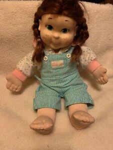My Buddy Kid Sister Doll 21 Hasbro Red Hair Brown Eyes 1986 Original Outfit Ebay