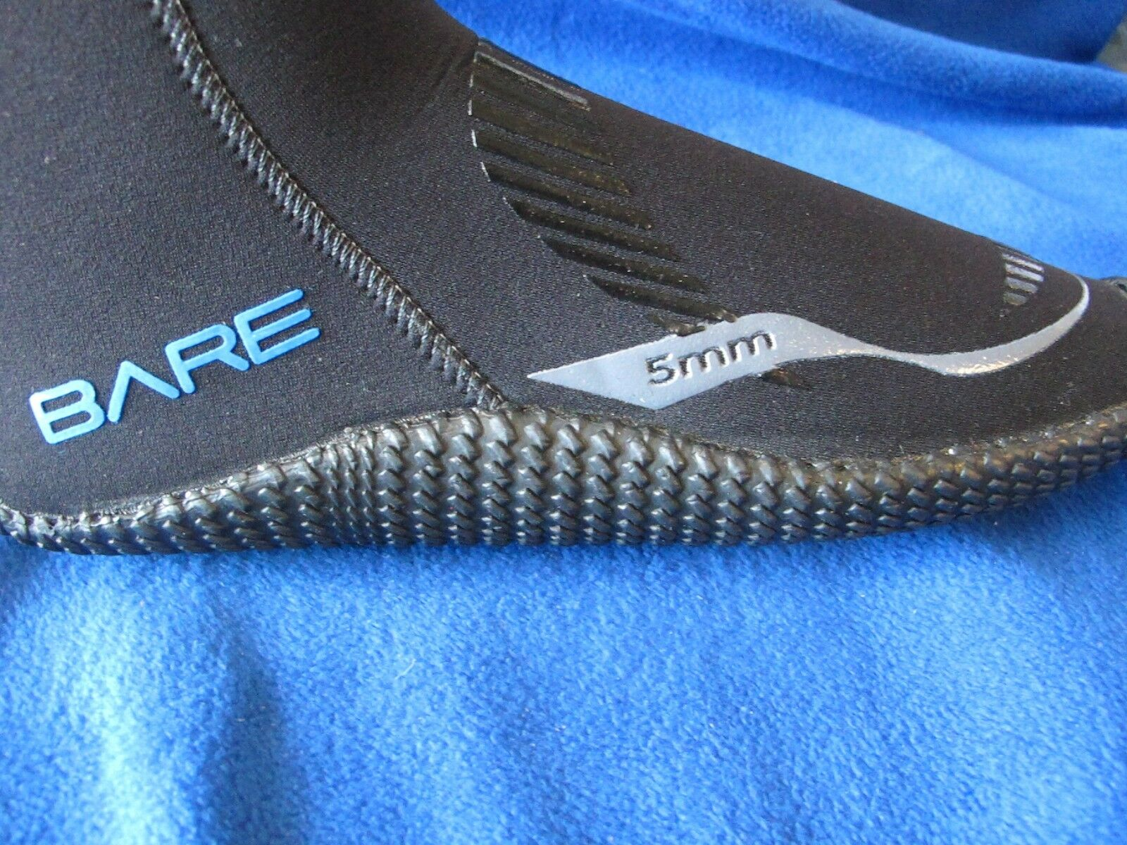 Bare 5mm water sport boot 2014 size 6