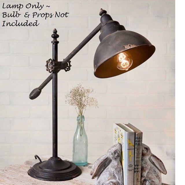 Swing Arm Task Lamp Vintage Look Adjule Farmhouse Office Study