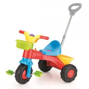 4e5c21636e7 Dolu Toddler My First Ride On Three Wheel Trike Pedals w/ Handle 2 ...