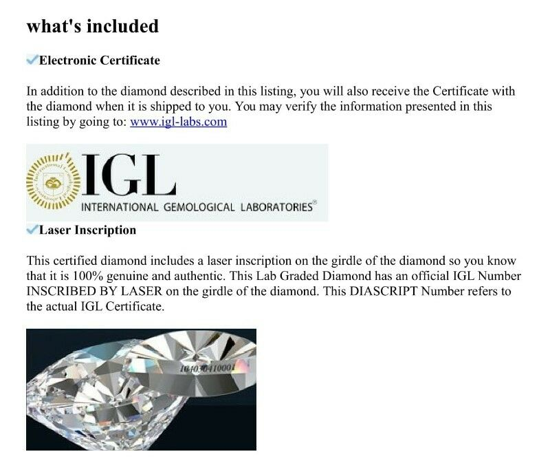 Diamond Rings For Sale Durban: Certified 0.76Cts Blue Diamond