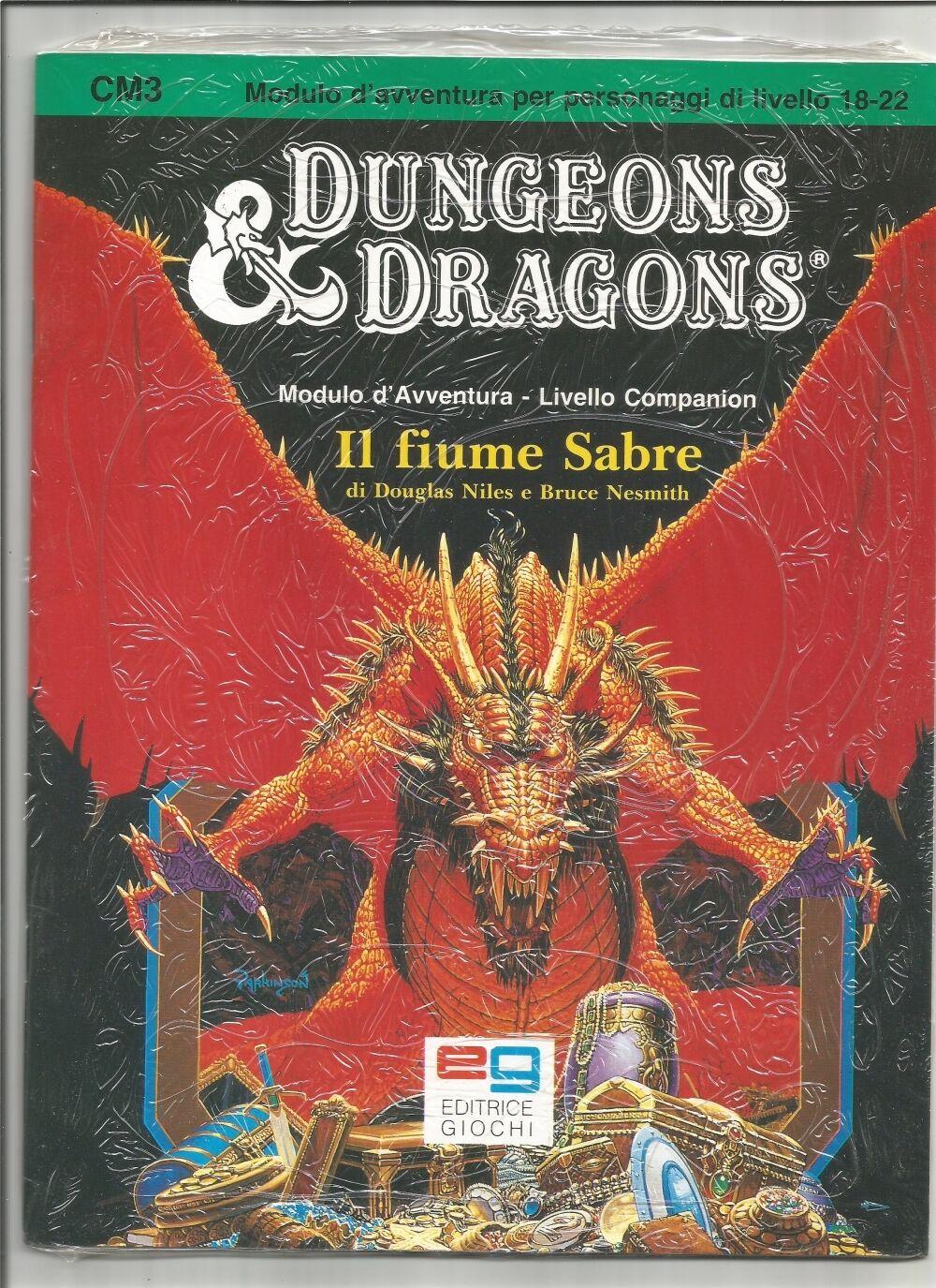 Il Fiume Sabre CM3 Dungeons&Dragons CELLOPHANATA