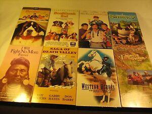 Lot Of 8 Vhs Tapes Children Famiily Shrek 2 Beethoven Western Y70b Ebay